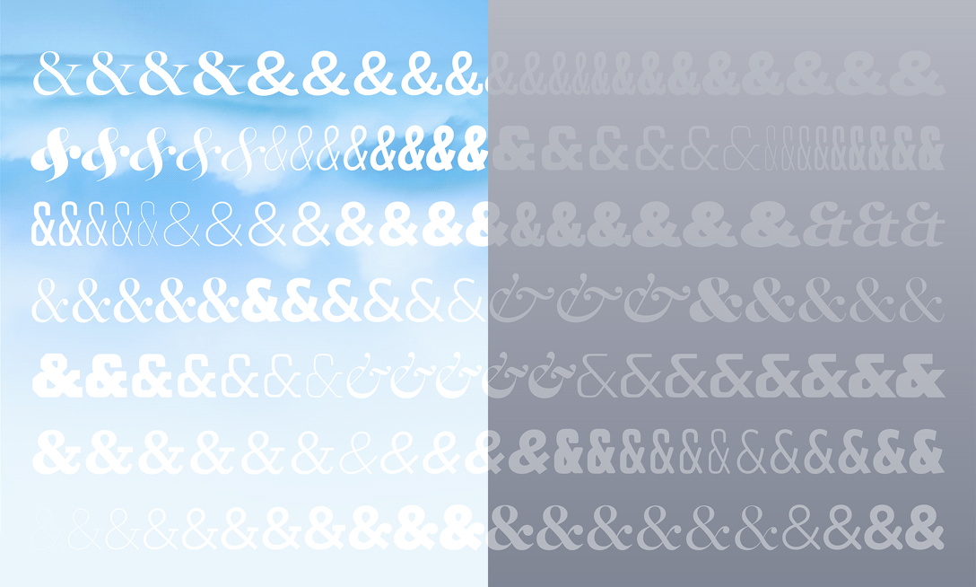 News from H&Co | Typographic Doubletakes | Fonts by Hoefler&Co