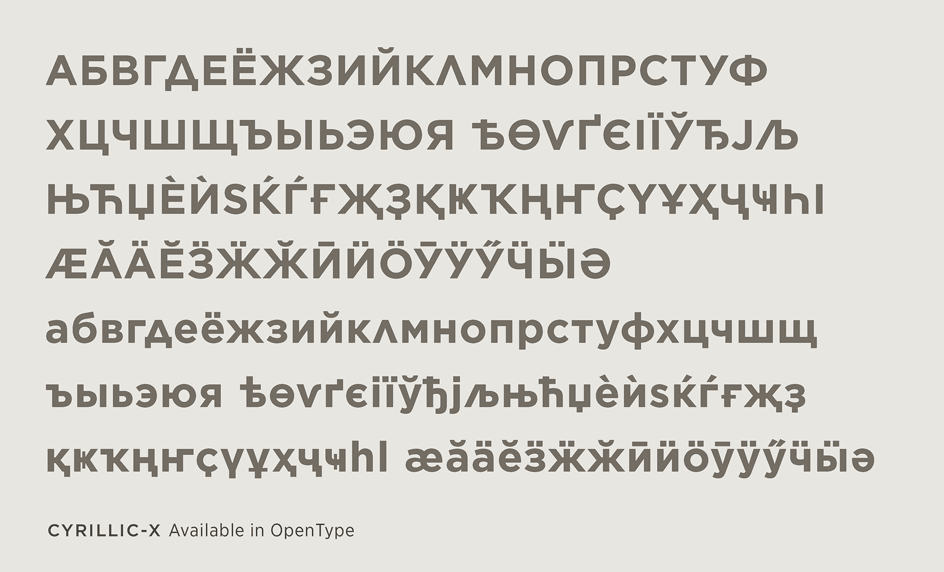 Gotham Font Features Extended Language Support Hoefler Co