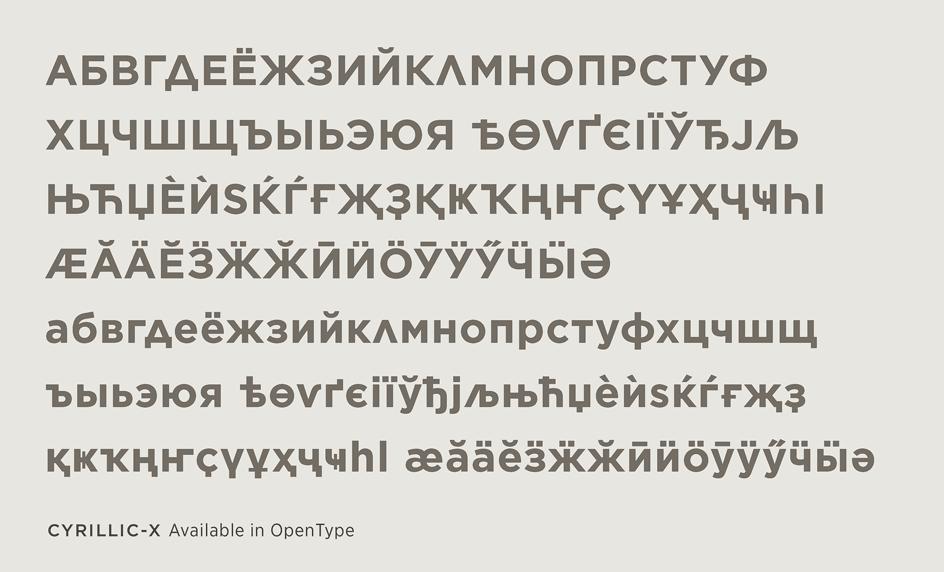 Gotham Cyrillic