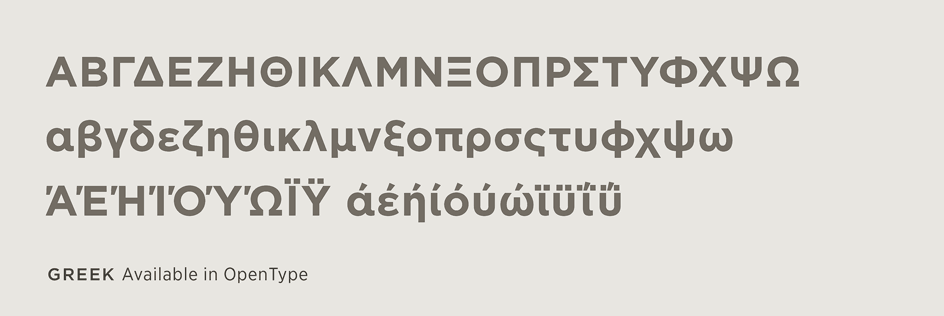 Gotham Font Features: Extended Language Support | Hoefler & Co