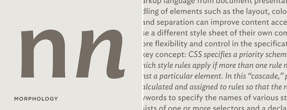 Ideal Sans: Cursive Italics