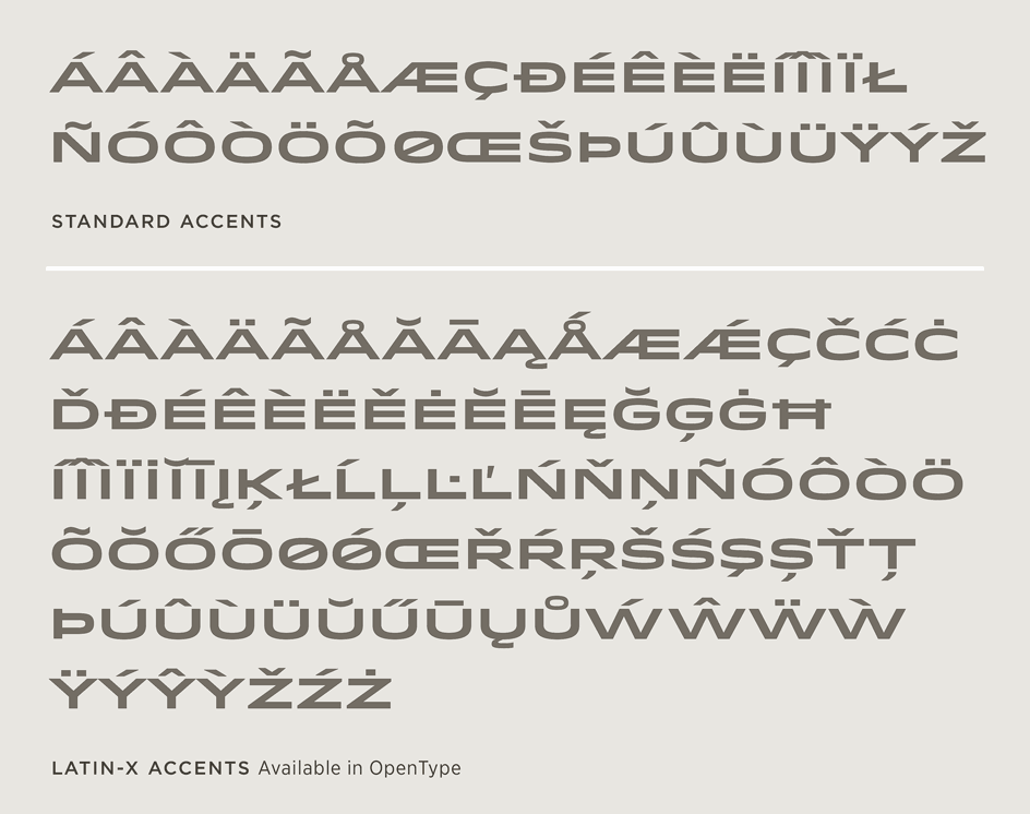 Idlewild: Latin-X Character Set