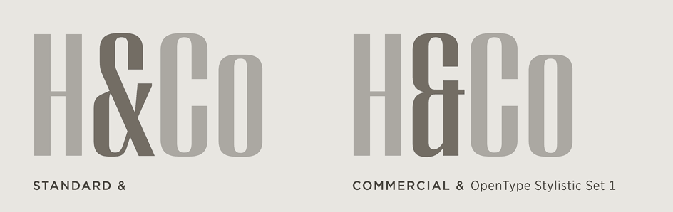 Peristyle: Commercial Ampersand