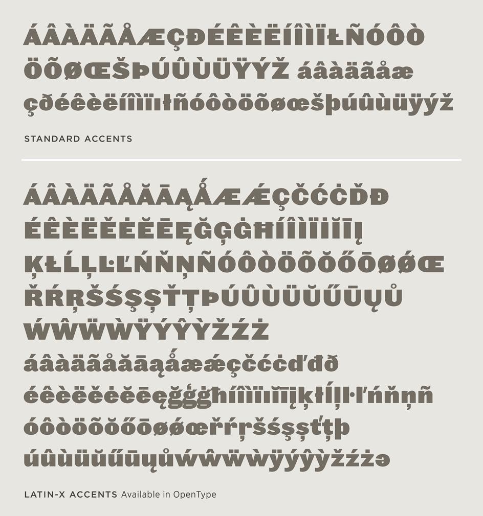 Leviathan: Latin-X Character Set