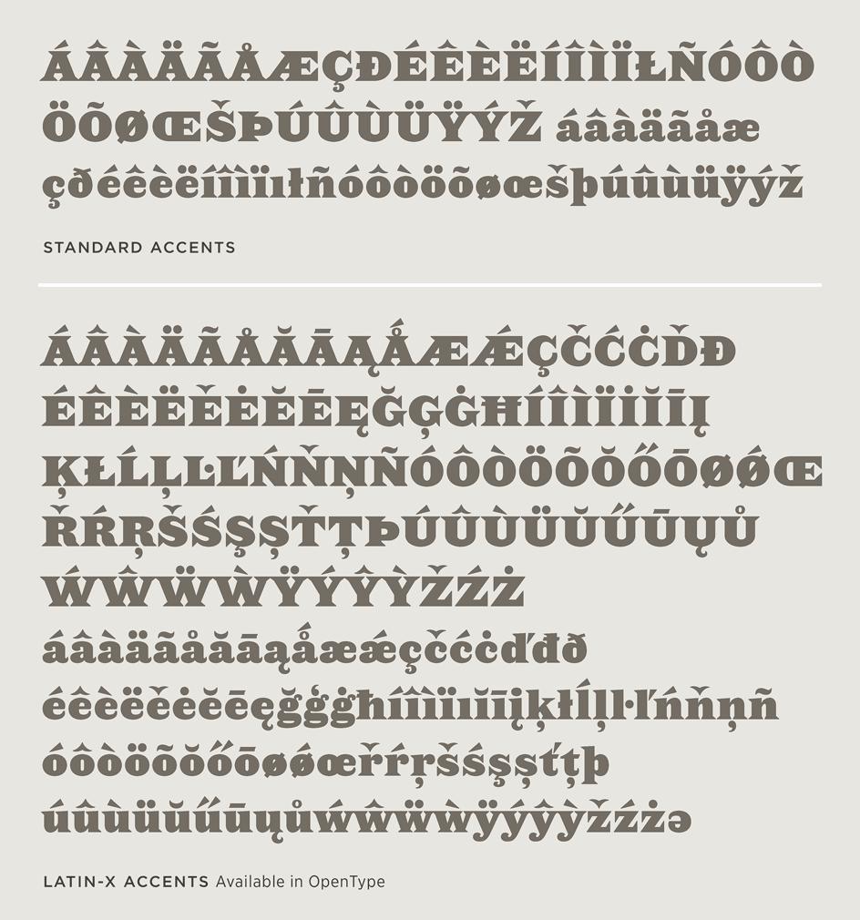Saracen: Latin-X Character Set