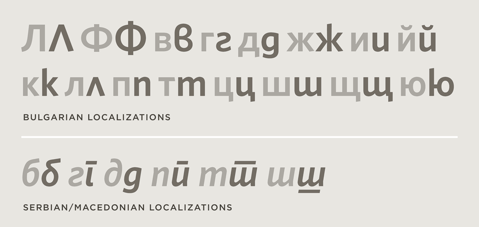 Whitney: Bulgarian, Serbian, and Macedonian Language Localization