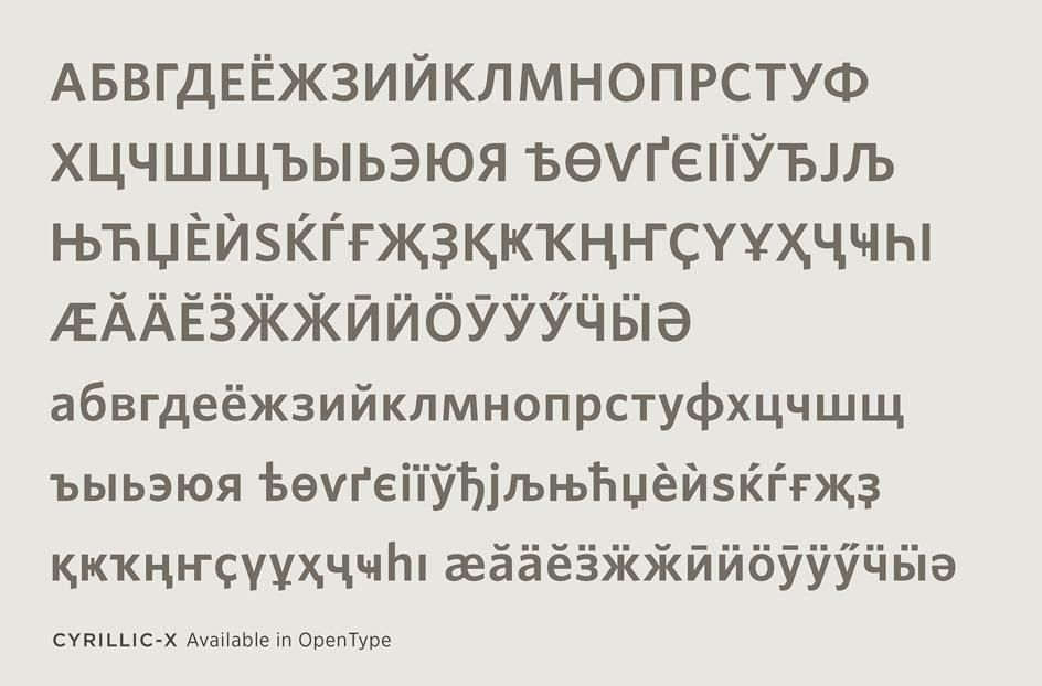Whitney Cyrillic