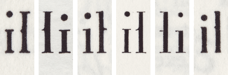 Fonts from the Imprimerie Nationale