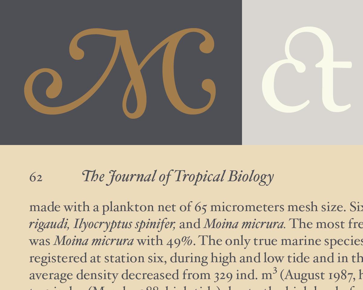 Hoefler Text Characters | Fonts by Hoefler&Co