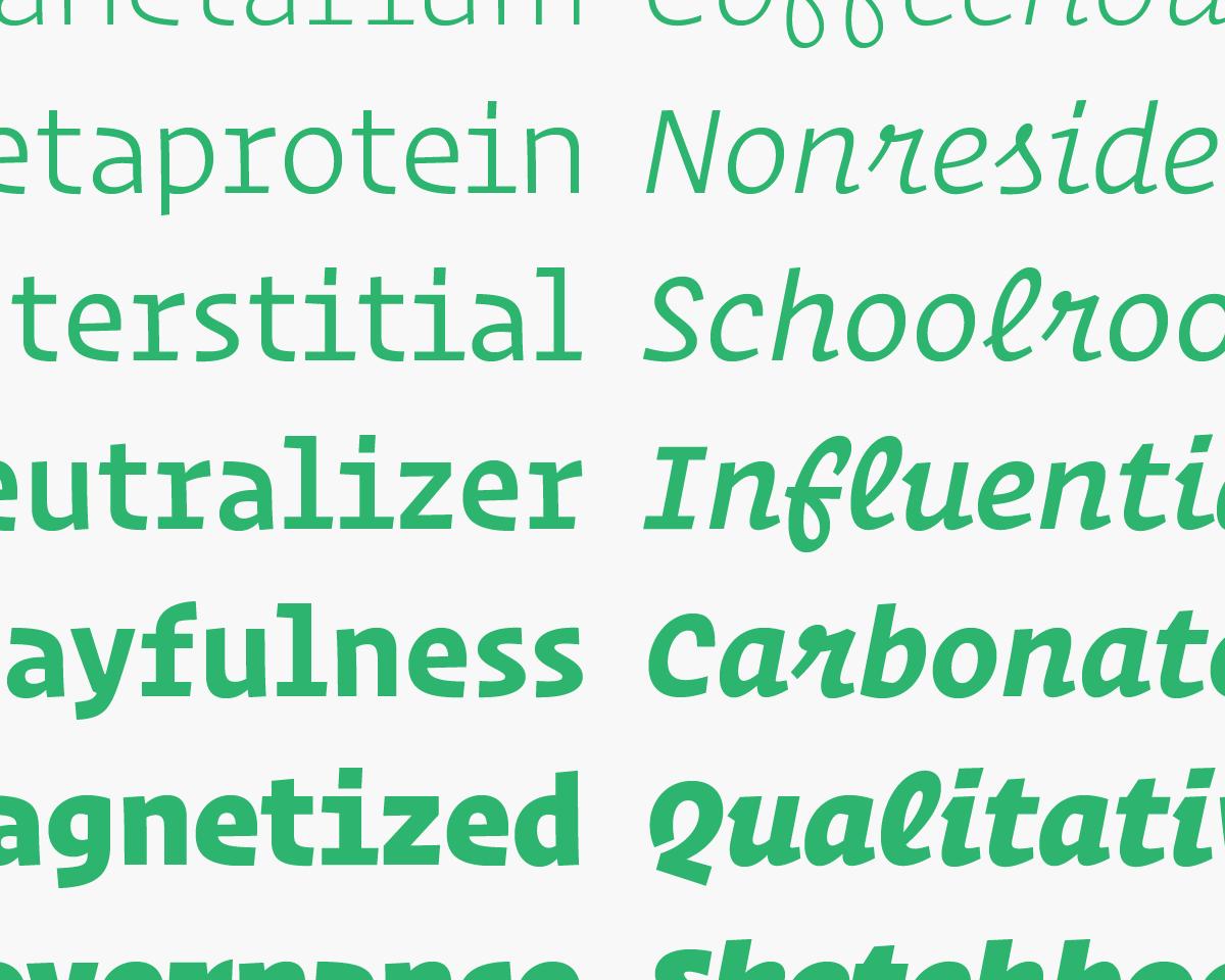 Operator Styles | Fonts by Hoefler&Co