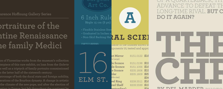 Archer Fonts | Hoefler & Co