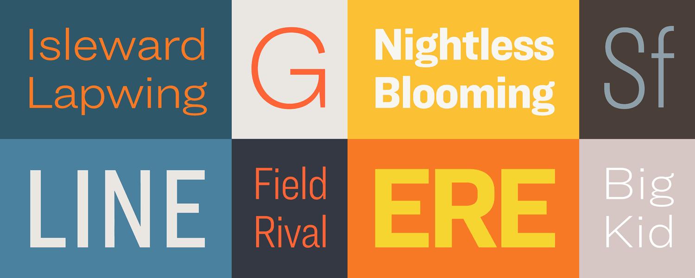 Ringside Fonts | Hoefler & Co