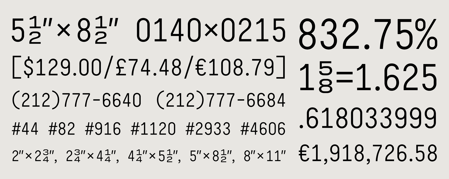 What's Inside: Claimcheck Fonts | Hoefler & Co